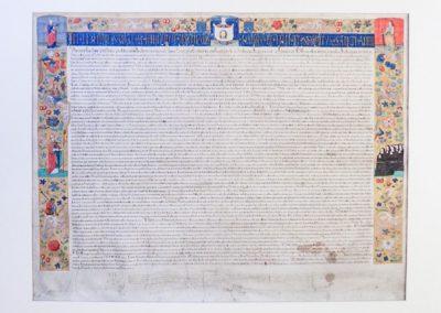 Conservatie beschermbul Paus Julius II