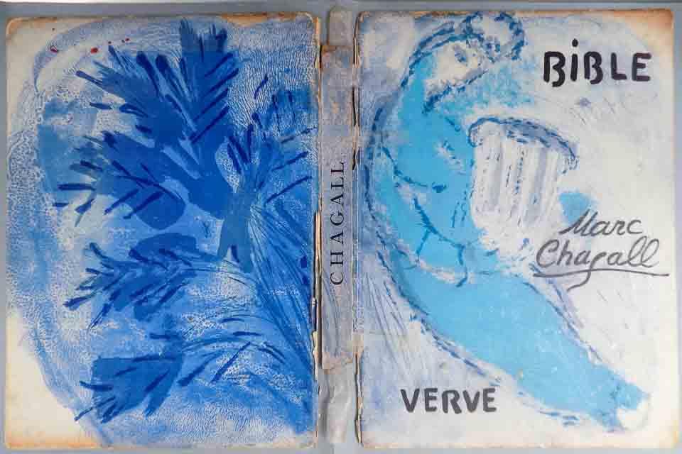 Bijbel Chagall voor restauratie